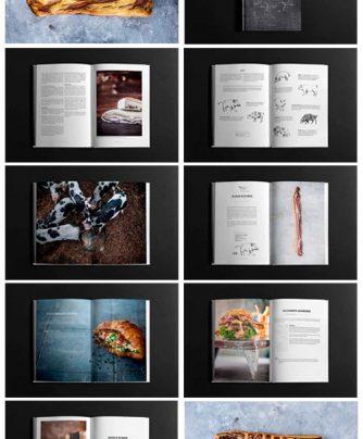 Griseracer, fedtmodnet bacon, sortbroget landrace, bacon, beruselses og bacon, bog om bacon