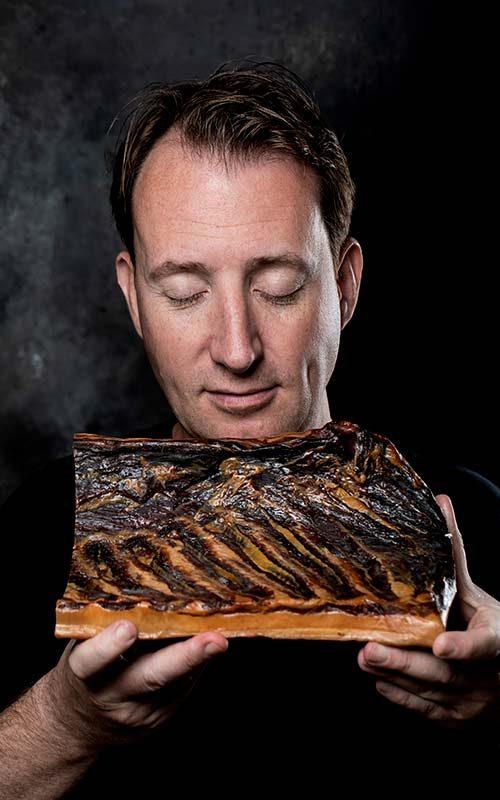 Baconista Allan Ømand Ungstrup fra ØMANDS