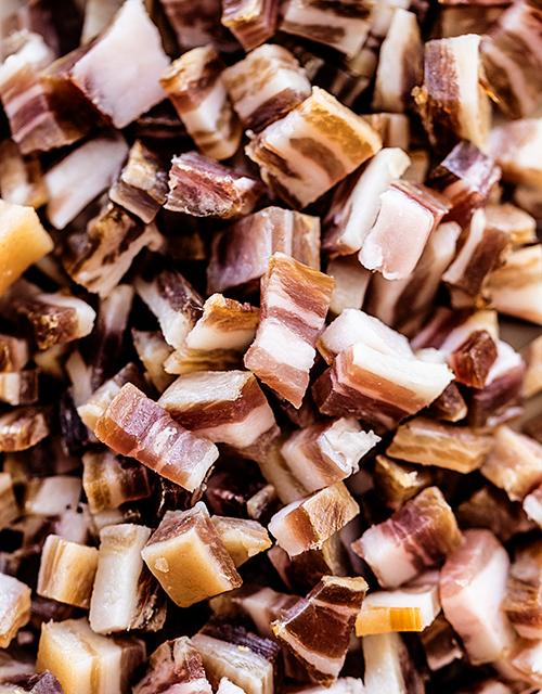 Fantastiske baconrester