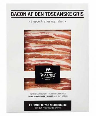 Bacon af den toscanske gris