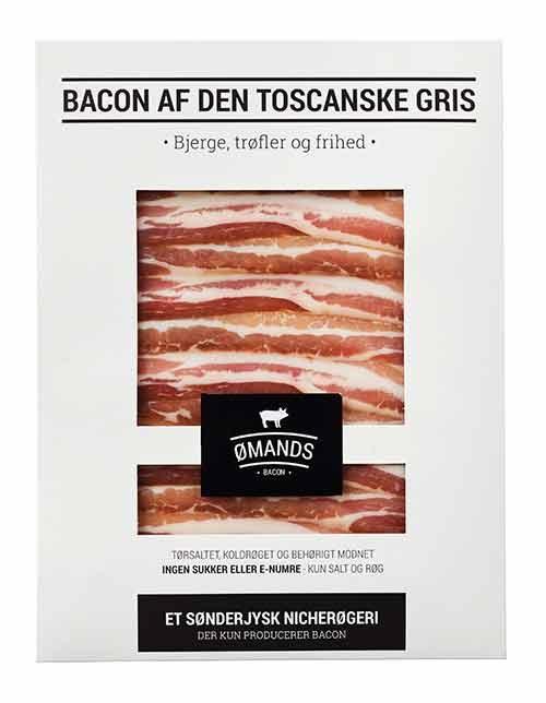 Bacon af den toscanske gris fra ØMANDS
